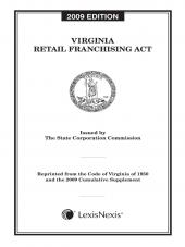Virginia Retail Franchising Act cover