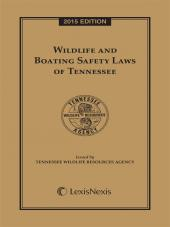 Wildlife and Boating Safety Laws of Tennessee cover