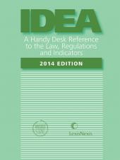 IDEA - A Handy Desk Reference to the Law, Regulations and Educators cover