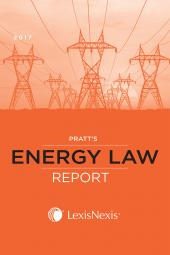 Pratt's Energy Law Report cover