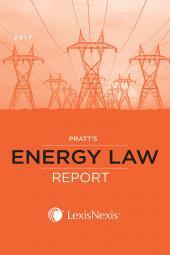 Pratt's Energy Law Report cover