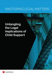 Mastering Legal Matters: Untangling the Legal Implications of Child Support cover