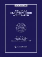 Georgia Election Code Annotated cover