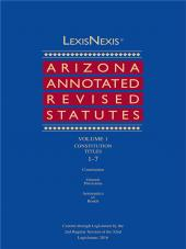 LexisNexis Arizona Annotated Court Rules cover