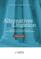 Alternatives to Litigation cover