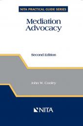 Mediation Advocacy cover