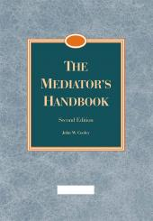 The Mediator's Handbook cover