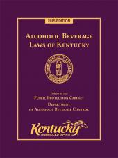 Alcoholic Beverage Laws of Kentucky cover
