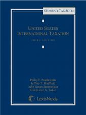 United States International Taxation, Third Edition cover