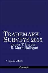 Trademark Surveys: A Litigator's Guide cover