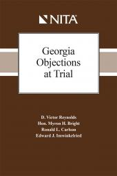Georgia Objections at Trial cover