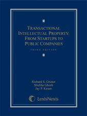 Transactional Intellectual Property: From Startups to Public Companies, Third Edition cover