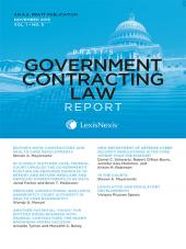 Pratt's Government Contracting Law Report cover