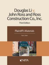 Doug Li v. John Ross and Ross Construction Co., Inc., Plaintiff's Version cover