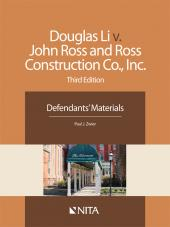 Doug Li v. John Ross and Ross Construction Co., Inc., Defendants' Version cover