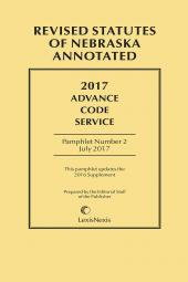Nebraska Advance Code Service cover