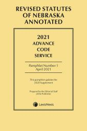 Revised Statutes of Nebraska Annotated: Advance Code Service cover