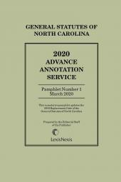 North Carolina Advance Annotated Service cover