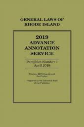 Rhode Island Advance Annotation Service cover