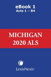 Michigan Advance Legislative Service cover