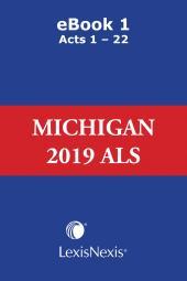Michigan Compiled Laws Service: Advance Legislative Service cover