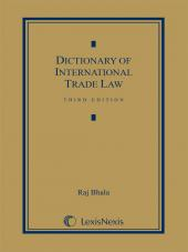 Dictionary of International Trade Law cover