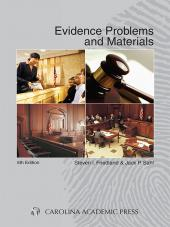 Evidence Problems and Materials cover