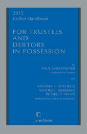 2016 Collier Handbook for Trustees and Debtors in Possession cover