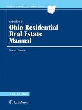 Anderson's Ohio Residential Real Estate Manual cover