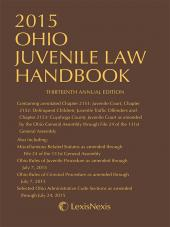 Ohio Juvenile Law Handbook cover