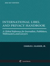International Libel and Privacy Handbook cover
