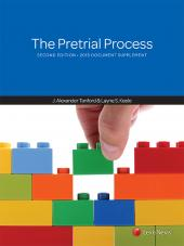 The Pretrial Process, Second Edition, 2015 Document Supplement cover