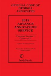 Georgia Advance Annotated Service cover