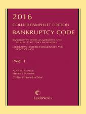 Collier Pamphlet Edition Part 1 (Bankruptcy Code) cover