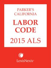 Parker's California Labor Code ALS cover