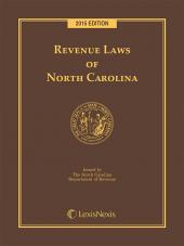 Revenue Laws of North Carolina cover