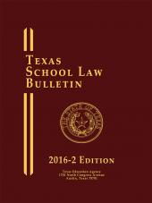 Texas School Law Bulletin cover