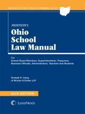 Anderson's Ohio School Law Manual cover