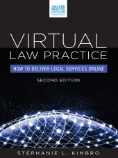 Virtual Law Practice: How to Deliver Legal Services Online cover