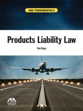 ABA Fundamentals: Products Liability Law cover