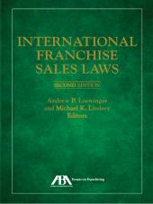International Franchise Sales Laws cover