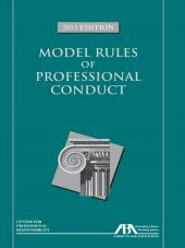 Model Rules of Professional Conduct cover