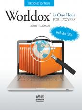 Worldox in One Hour for Lawyers Ebook cover
