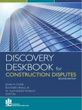 Discovery Deskbook for Construction Disputes cover