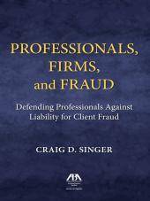 Professionals, Firms, and Fraud cover