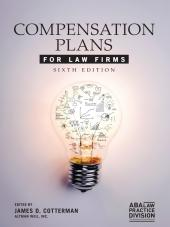 Compensation Plans for Law Firms cover