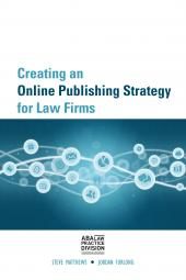 Creating an Online Publishing Strategy for Law Firms eBook cover