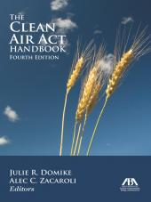 The Clean Air Act Handbook cover