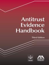 Antitrust Evidence Handbook cover