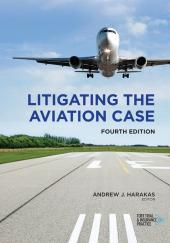 Litigating the Aviation Case cover